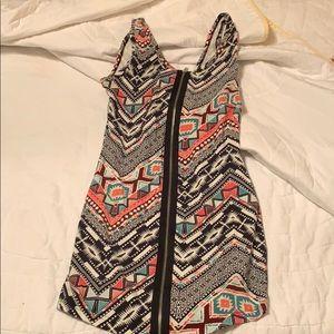Dresses & Skirts - Charlotte Russe zippier dress size M